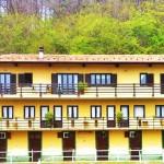 le camere nel balcone centrale